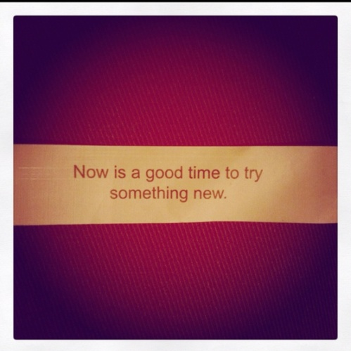 What a wise one you are, oh fortune cookie.
