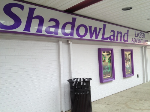 Shadowland -- where all your lasertagging adventures come true.