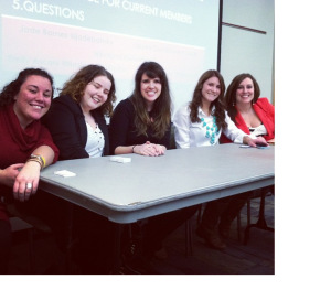 Five awesome ladies doing big things. Took this from Alex's blog!