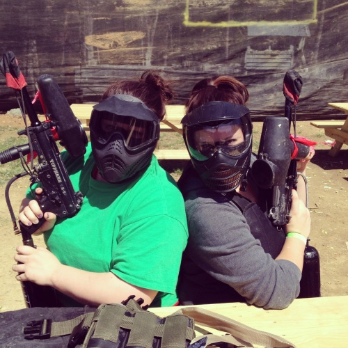 paintball girls
