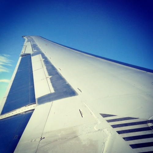 Necessary Instagrammed airplane picture.