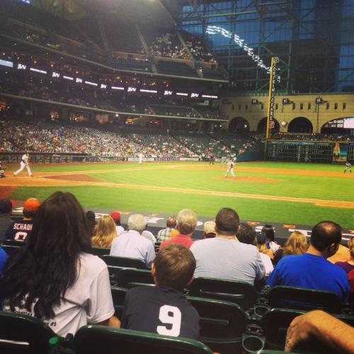 texas baseball seats