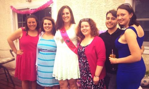My amazing bridal party.