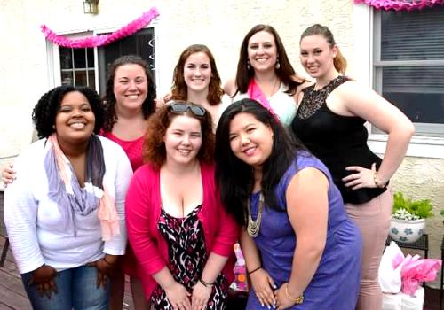 My temple ladies.